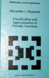 A.I.Stepanets. Classification and